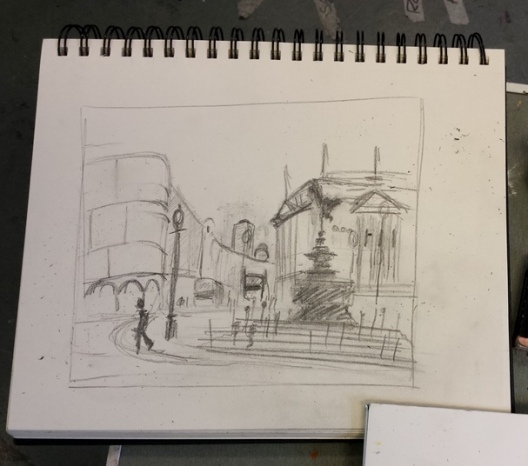 Picadilly sketch