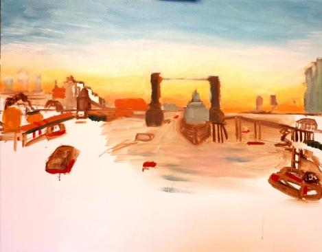 The Thames below TB III