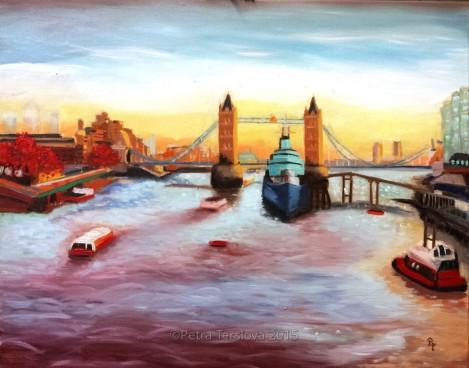 The Thames below TB V wat