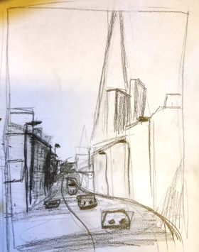 Borough High Street sketchII